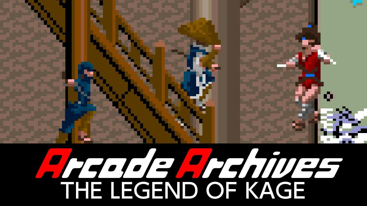 Resultado de imagen de Arcade Archives: The Legend of Kage