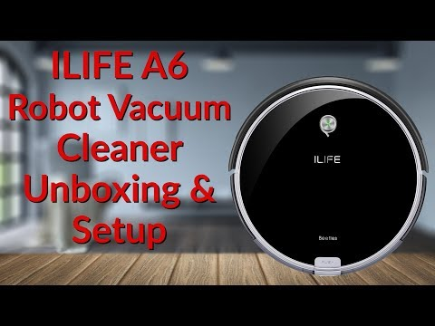 ILIFE Robot Vacuum Cleaner Unboxing & Setup - YouTube Tech Guy