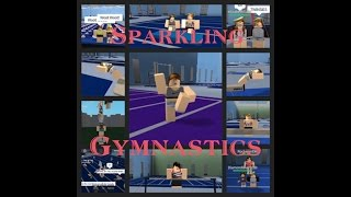 Sparkling Gymnastics ROBLOX gameplay