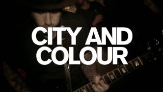 City And Colour - Western Canadian Tour 2016!