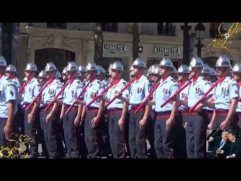 President Trump joins French President Emmanuel Macron at Celebrating Bastille Day Parade in Paris