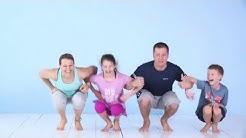 Koko perheen kesäjumppa