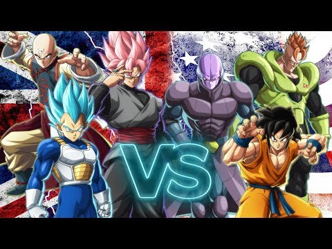 DRAGON BALL FIGHTERZ | 3 vs 3 Online Party Match Team USA vs Team UK! (Live!)