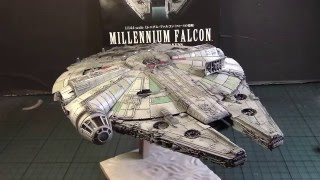 Star Wars Decals Bandai 1//144  Millennium Falcon panels TFA TLJ TROS