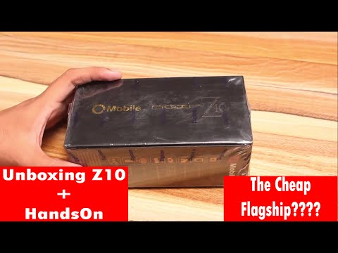 Qmobile Z10 Unboxing | The Cheap Flagship King?? - YouTube