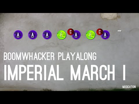 Imperial March I - Boomwhacker Playalong