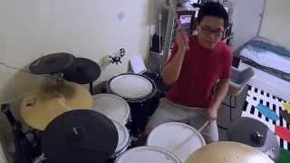 Last Child - Memories Of You (drum cover) by Budi Fang