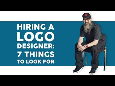 7 things to look out for when choosing a logo designer for your new brand identity.