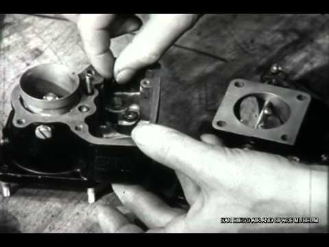 Overhauling The Aircraft Carburetor F 1085
