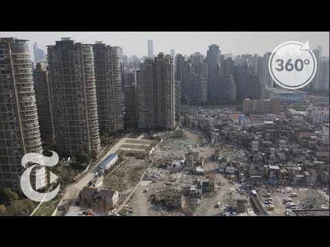 Shanghai Holdout Defies a High-Rise Boom | The Daily 360 | The New York Times