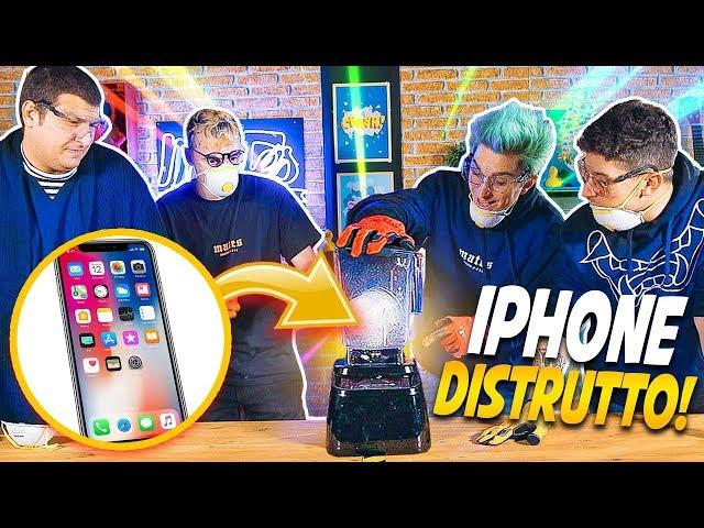 FRULLATORE SPACCA TUTTO VS IPHONE! *costoso*