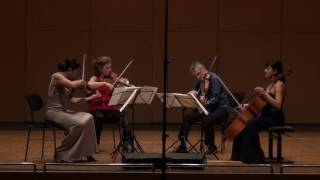 Barber String Quartet 1/2
