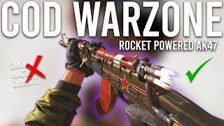 Call of Duty Warzone - The Rocket Powered AK47 is INSANE!