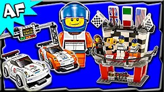 Lego Speed Champions PORSCHE 911 GT FINISH LINE 75912 Stop Motion Build Review