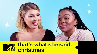 That's What She Said: The Christmas Episode