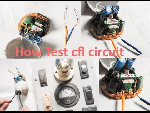 How To Test CFL Circuit