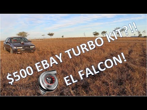 UNDER $500 EBAY TURBO KIT ON FALCON!!?? HOW TO