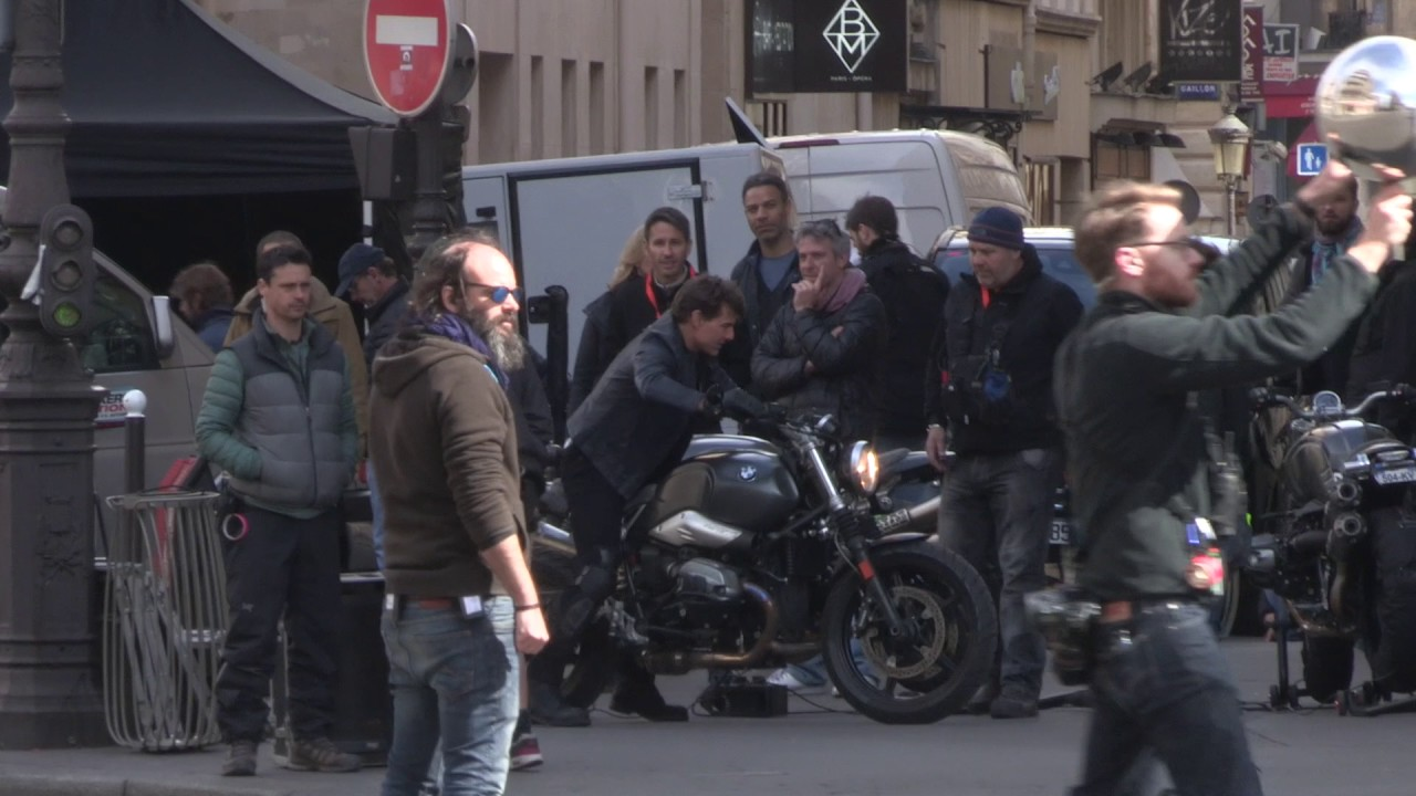 Tom Cruise Tourne Mission Impossible 30 Avril 2017 Paris Youtube