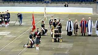 The Seaforth Highlanders of Canada Centenary - Presentation of new Regimental Colours [Part 3/5]
