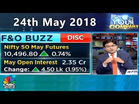 Know Your Company | 24th May 2018 | CNBC Awaaz