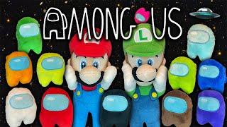 Super Mario Among Us Plush! - Super Mario Richie