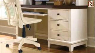 Computer Desk & Hutch - American Drew, Sterling Pointe Collection 181-935r