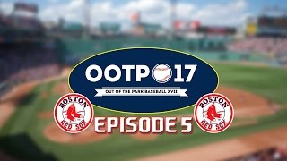 Out of the Park Baseball (OOTP) 17: Boston Red Sox Season 1 Episode 5 2016 World Series