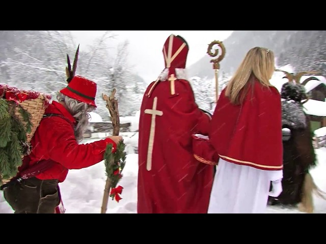 Krampus & Nikolaus in BadGastein am 05. Dezember 2017, Gasteiner Krampuslauf