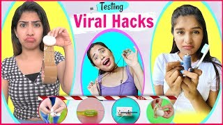 Testing LIFE Saving VIRAL Hacks | Anaysa