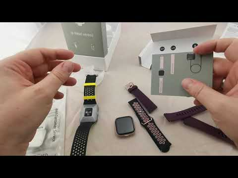 Fitbit Versa 2 unboxing, first impressions and comparison to the Fitbit Ionic