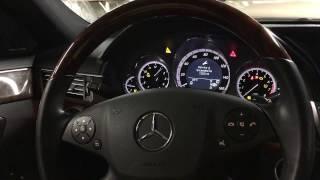 Reset service 2010 E350 Mercedes - Guide works for E Class - C Class - M Class