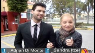 Sandra Itzel y Adrian Di Monte para EXTREME TV.