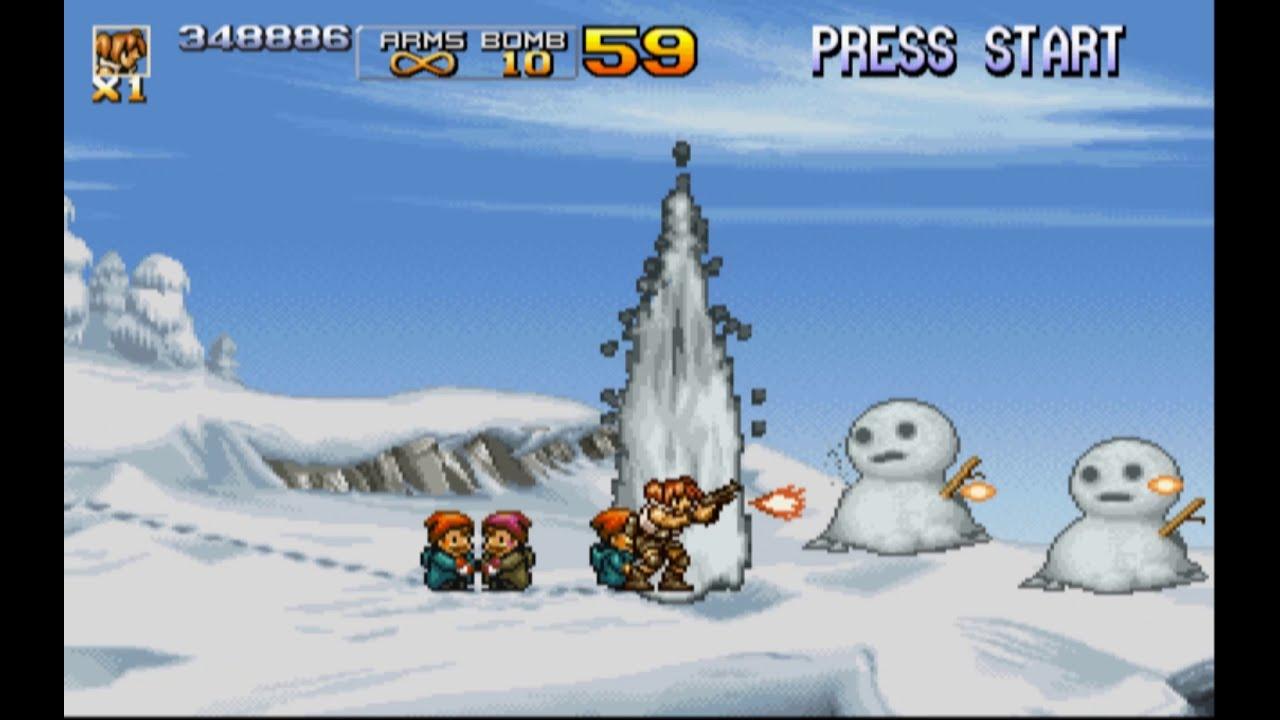 game rambo lùn huyền thoại ( chiến binh thép ) game tuổi thơ [ Metal Slug 4 ]