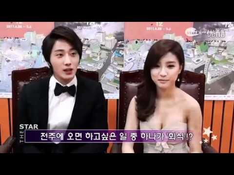 20110428 Kim So Eun & Jung Il Woo - Interview on E-star