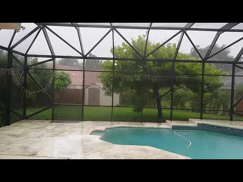 Hurricane Irma Part 1 Coral Springs Florida 2:45PM