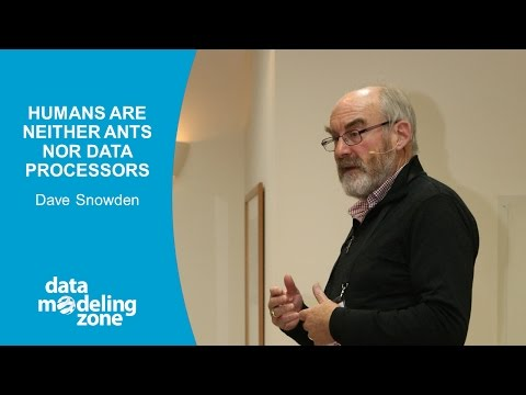 Humans are neither ants nor data processors - Dave Snowden (DMZ Europe 2016)