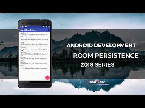 Android Development Tutorial - Build Database With Room Persistence
