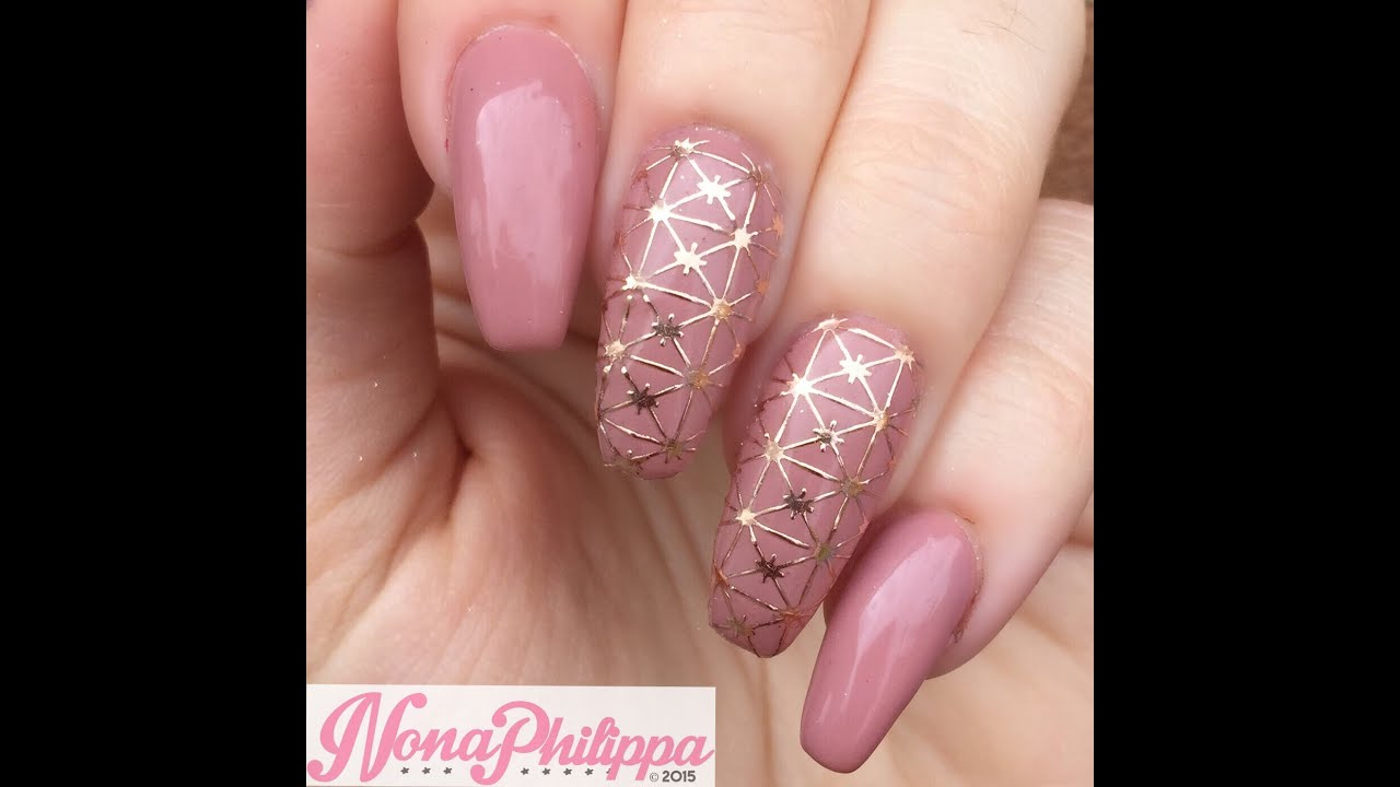 all that jazz filigree nail stickers demo review youtube