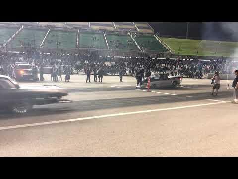 Larry Larson vs Da Gudfar Kansas Speedway