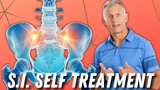 Absolute Best Self-Treatment for S.I. (Sacroiliac Pain). Stretches & Strengthening