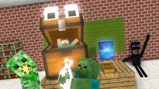 Monster School : OPEN GIFT LOLBOX - Minecraft Animation