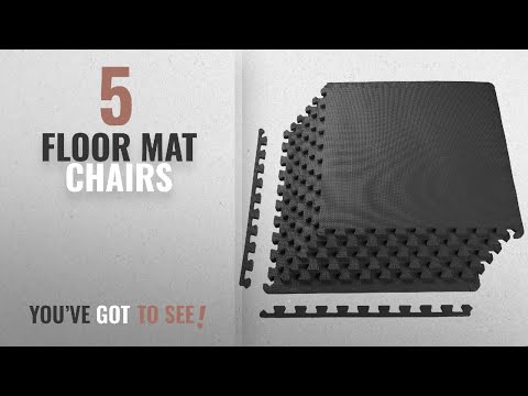 Top 10 Floor Mat Chairs [2018]: BalanceFrom Puzzle Exercise Mat with EVA Foam Interlocking Tiles,
