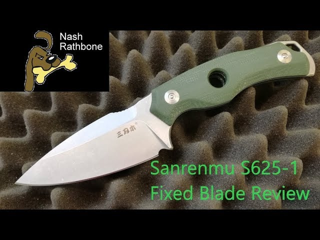 Sanrenmu S625-1 Fixed Blade Review