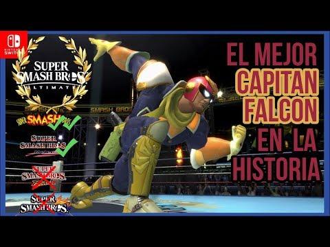 EL MEJOR CAPITAN FALCON DE TODO SMASH! - Smash Bros Ultimate
