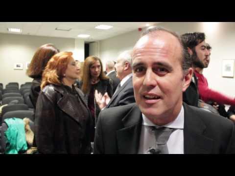 José Aguilar y Simón Andreu presentan el homenaje de Luis Sanz