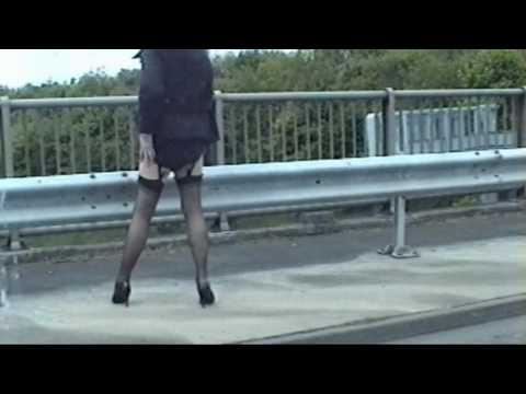 Crossdresser Samantha Outdoors In Stockings 2 from YouTube · Duration:  2 minutes 17 seconds