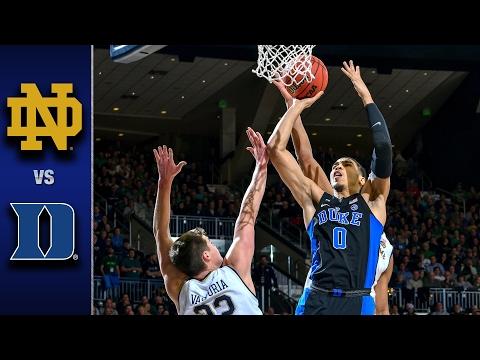 Duke vs. Notre Dame Men