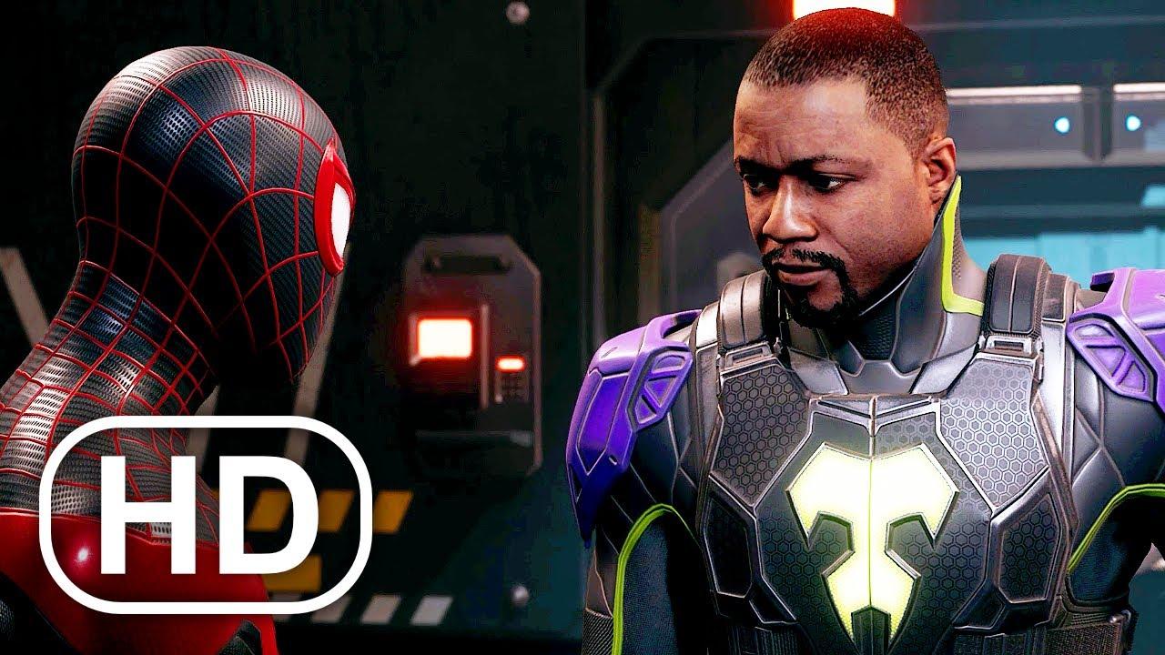 Spider-Man Miles Morales Meets Prowler Scene HD