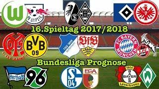 FIFA 18 Bundesliga Prognose 16.Spieltag 2017/2018 Alle Spiele, alle Tore Deutsch (HD)