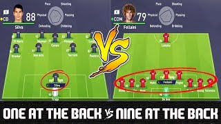 One of Rich Leigh's most viewed videos: One at the Back VS Nine at the Back - FIFA 18 Experiment